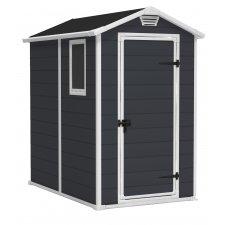 Abri jardin résine Premium 46S/Manor® 46S gris 2,5 m² - Anthracite