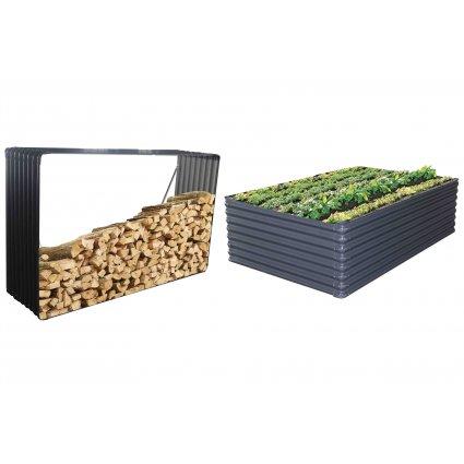 Bucher / Carré potager Premium en Métal