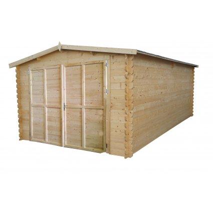 Garage bois Royal 22,2 m² - 34mm