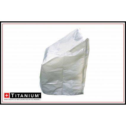 Housse protection chaises – TITANIUM® 67x67x109 - argent