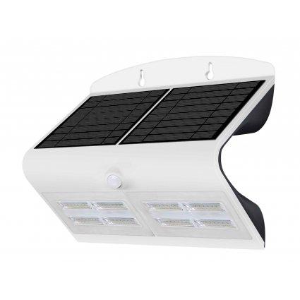 Lampe solaire murale 800lm - Blanc