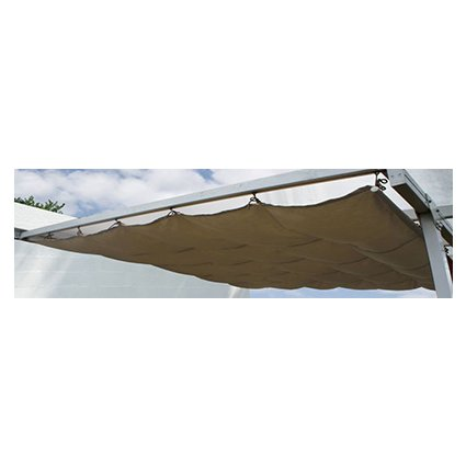 Toile d'ombrage – Couv'Terrasse 3x5,4 m - écru