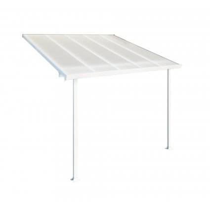 Toit Couv'Terrasse aluminium & polycarbonate Feria 3x3 - Blanc