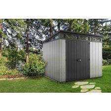 Abri en résine Brossium®Monopente /Artizan 97- 6 m²