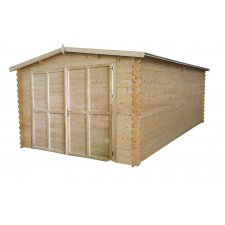 Garage bois Royal 22,2 m² - 34mm