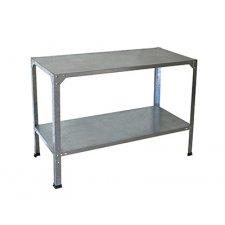 Table réversible pour serre 114x50x80 cm - Aluminium naturel