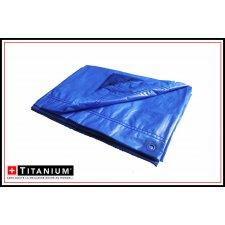 Bache protection polyethylene - TITANIUM - 6x10 - Bleu nuit